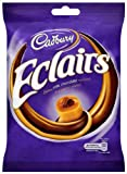 Cadbury Chocolate Eclairs Bag 180 g (Pack of 6)