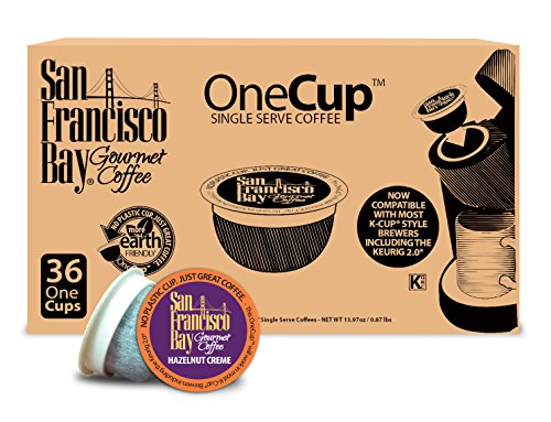 San Francisco Bay OneCup, Hazelnut Creme, 36 Single Serve Coffees Kitchen