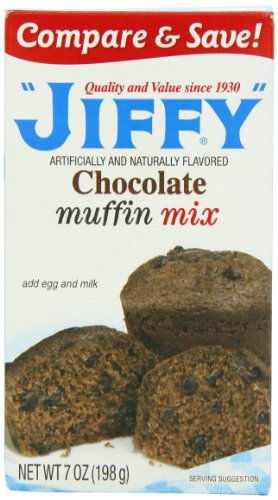Jiffy Muffin Mix Chocolate 198 g (Pack of 5)
