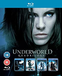 [UK-Import]Underworld Quadrilogy Blu-Ray