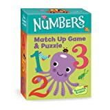 51mubdBM9gL. SL160  Peaceable Kingdom / Numbers 2 in 1 Match Up Memory Game & Floor Puzzle