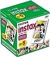 Fujifilm Instax Mini Instant Film, 10 Sheets x 5 packs