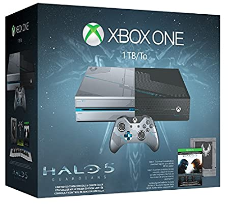Xbox One 1TB Console - Halo 5: Guardians Limited Edition Bundle