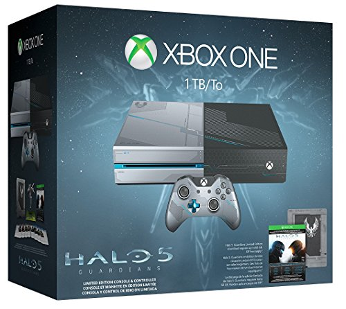 Xbox One 1TB Console - Limited Edition Halo 5: Guardians Bundle (Xbox 360 Special Edition Console compare prices)