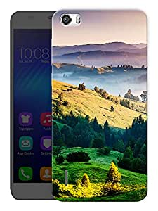 """Humor Gang Beautiful Landscapes Printed Designer Mobile Back Cover For """"Huawei Honor 6"""" (3D, Matte, Premium Quality Snap On Case)"""