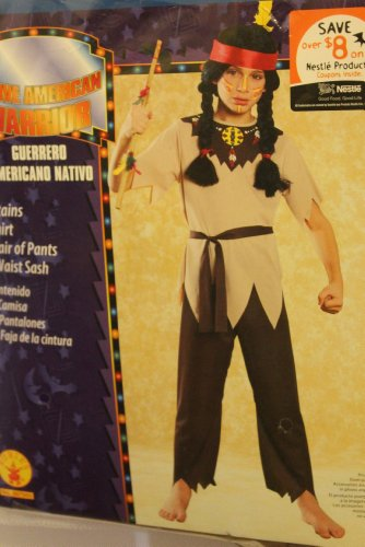 NATIVE AMERICAN WARRIOR COSTUME FOR BOYS