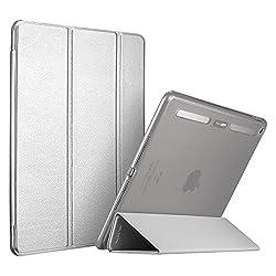 iPad Pro Case, ESR iPad Pro Smart Case Cover [Corner Protection][Ultra Slim][Auto Wake up/Sleep Function] for Apple iPad Pro 12.9 Inches (2015 Release)_Metallic Silver