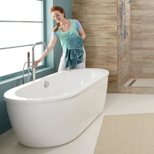 American standard cadet freestanding tub for Cheap free standing tubs