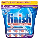 Finish Powerball Quantum Power Gel 728g = 40s (Pack of 8 x 40s)
