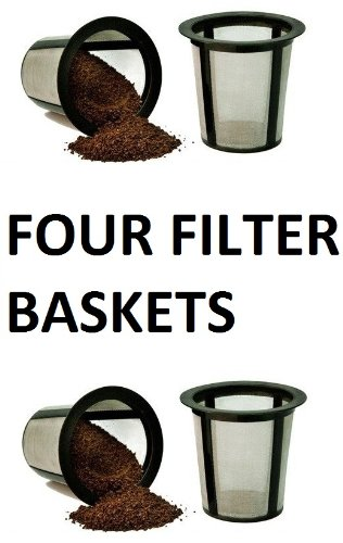 4 X Keurig Cuisinart One All My K-Cup Reusable Coffee FILTER BASKET REPLACEMENTS