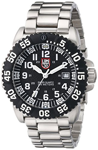 Luminox Navy Seal Colormark Black Dial Steel Mens Watch 3152 (Navy Seal Watches Luminox compare prices)