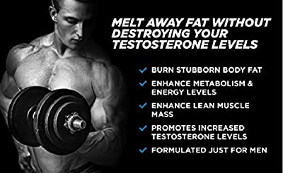AndroShred - Hardcore Fat Burner - Build Lean Muscle - Increase Strength, Power, Lean Muscle, Energy, & Fat Loss - Diet Pill for Men