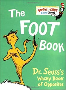 Cover of &quot;The Foot Book: Dr. Seuss's Wack...