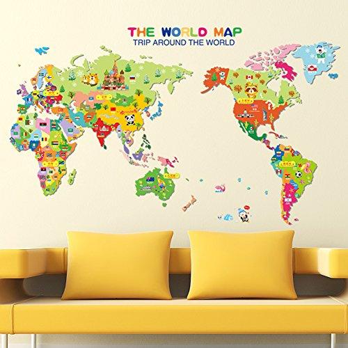 mapa-del-mundo-ingles-letras-pared-adhesivo-pvc-murales-vinilo-casa-papel-casa-decoracion-papel-pint