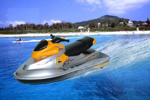 RC Motor Boat R/C First Super Powered Watercraft Radio Remote Control EP Sports Motorboat