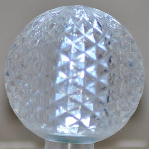 Queens Of Christmas G50-Retro-Pw Pure White Retrofit G50 E17 Base Led Bulbs - Pack Of 10