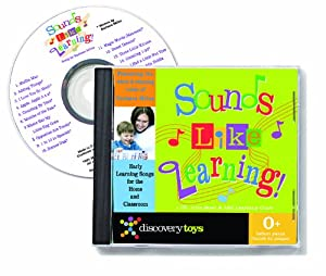Sounds Like Learning! CD by Discovery Toys