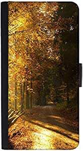 Snoogg Path In Forest Designer Protective Phone Flip Back Case Cover For Lenovo Vibe K4 Note