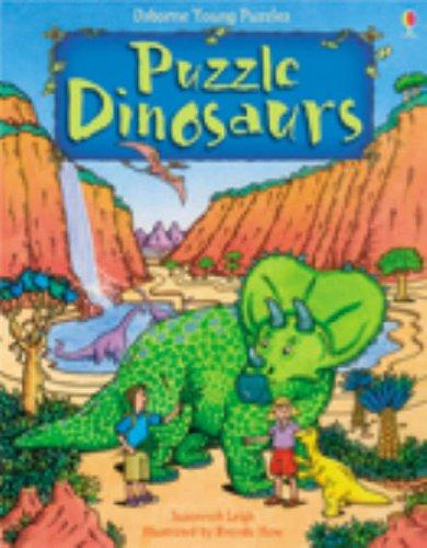 Puzzle Dinosaurs (Usborne Young Puzzles) (Usborne Young Puzzles)