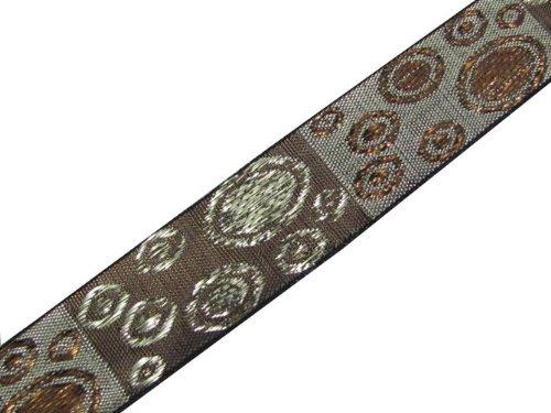 4.5 Yd Dress Embellishment Metallic Jacquard Ribbon Trim Lace Sewing Craft