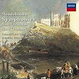 メンデルスゾーン:交響曲第3番「スコットランド」&第4番「イタリア」 他