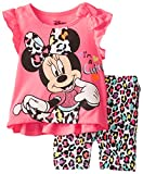 Disney Baby Girls' Minnie Mouse Bike Short Set  Pink
