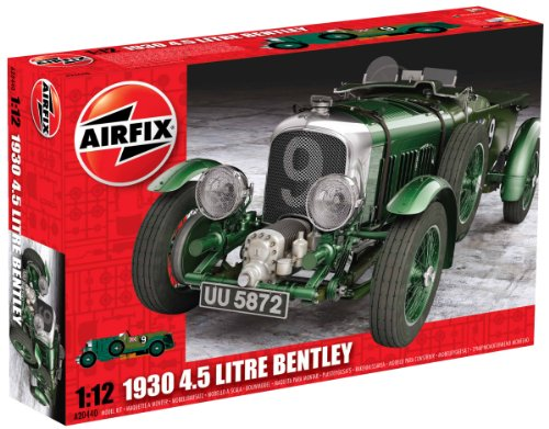 Airfix A20440 1930 4.5 Litre Bentley 1:12 Scale Series 20 Plastic Model Kit