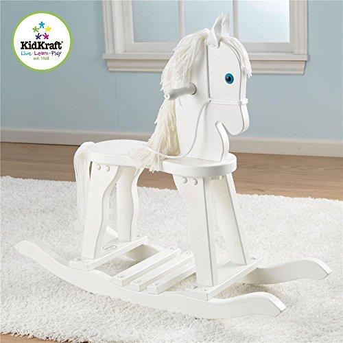 Kidkraft 19601 Derby Rocking Horse White Wooden - 1