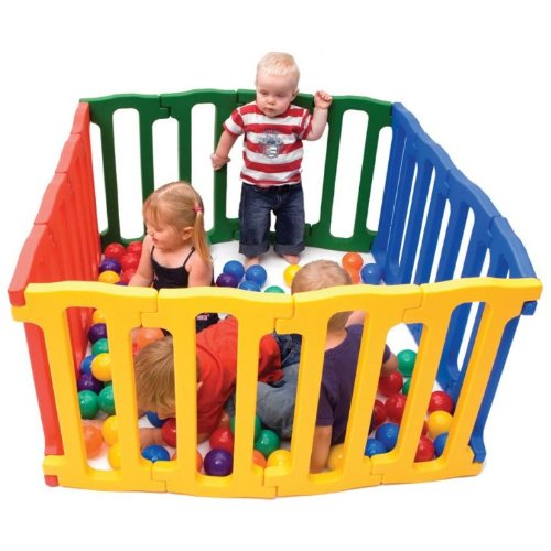 Liberty House Toys Jolly Kidz Magic Panel Playpen