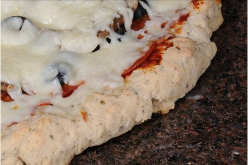 Gluten Free Deep Dish Italian Garlic & Herb Pizza Dough by Mom's Place Gluten Free