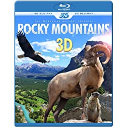 ROCKY MOUNTAINS 3D - The Impressive Natural Paradise (Blu-ray 3D & 2D Version) REGION FREE