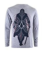 ICONIC COLLECTION - ASSASSINS CREED Camiseta Manga Larga Syndicate - Silo (Gris Claro)