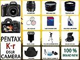 Pentax K-r Digital SLR Camera with 18-55mm Lens