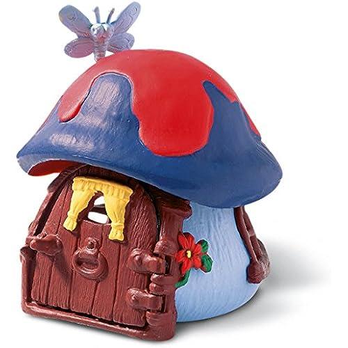 Schleich  슈라이히  THE SMURFS  스마후 가 파란 버섯의 집 49013-49013