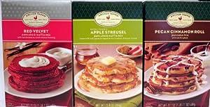 Archer Farms Variety Pancake Mix - Red Velvet, Apple Streusel, And Pecan Cinnamon Roll