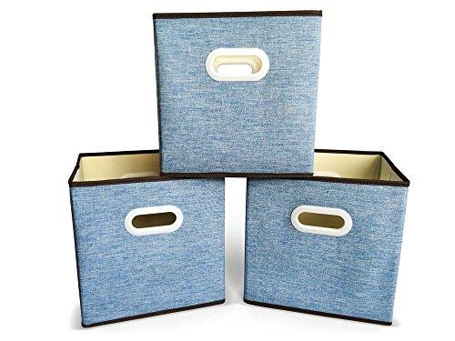 faltbare aufbewahrungsbox schaffen sie ordnung in ihrem zuhause verstauen sie lose. Black Bedroom Furniture Sets. Home Design Ideas