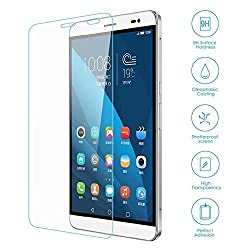 Chevron Ballistic Nano Tempered Glass Screen Protector Scratch Free Slim Guard For Huawei Honor 7 (Pack Of 3)