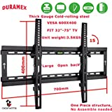 DURAMEX LCD LED PLASMA TV WALL MOUNT, SCREEN BRACKET,TILT 15, 32 40 42 46 47 50 52 55 60 (FREE SHIPPING)