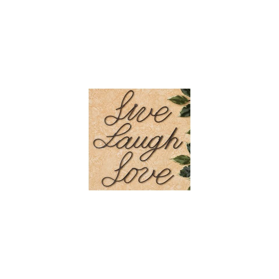 Live, Laugh, Love Wall Words   Wall Art and Decorations