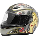 Sparx S-07 Limited Edition Platinum Full Face Helmet Multi Xxl/Xx-Large