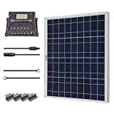 Renogy 50 Watt 12 Volt Polycrystalline Solar Starter Kit.