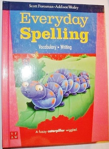 Everyday Spelling, Vocabulary Writing