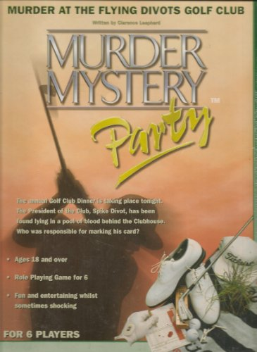 Murder Mystery Boxed Game for 6 Players