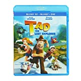 Tad: The Lost Explorer - 3D Combo [Blu-ray]