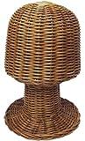 籐製帽子 スタンド 610601