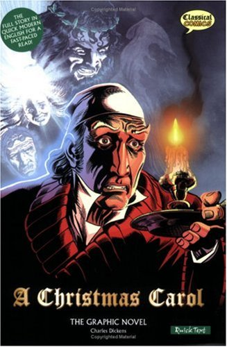 A Christmas Carol: The Graphic Novel (American English, Quick Text Edition)