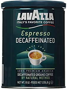 Lavazza Decaffeinated Espresso Ground Coffee, 8 Ounce by Lavazza