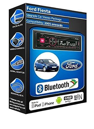 Ford Fiesta Alpine UTE 72BT-kit mains libres Bluetooth de voiture pour autoradio stéréo
