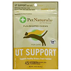 Pet Naturals of Vermont Urinary Tract Support for Cats Soft Chews - 45 Ea, Pack of 6