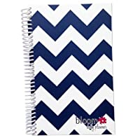bloom daily planners 2015 Calendar Year Planner - Passion/Goal Organizer - Fashion Agenda - Weekly Diary - Monthly Datebook - (January 2015 Through December 2015) Navy Chevron